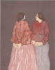 RC Gorman - Two Sisters ~ Signed Litho 100/200